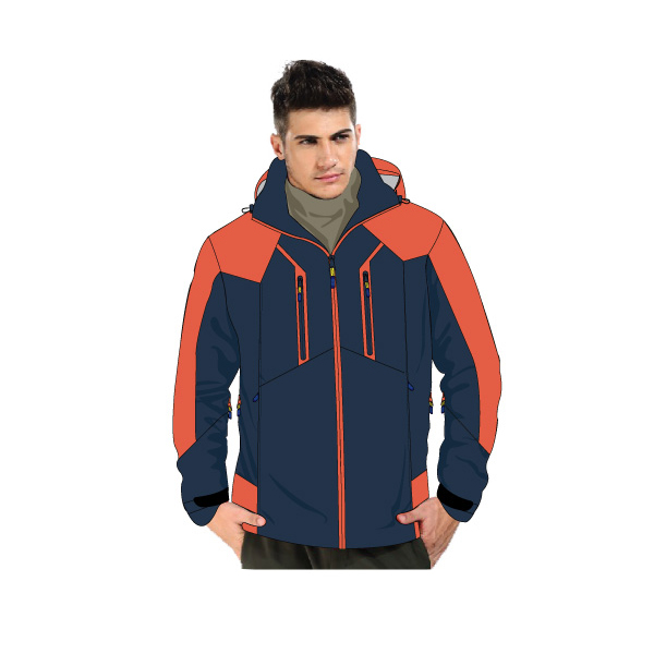 snow jacket made in China