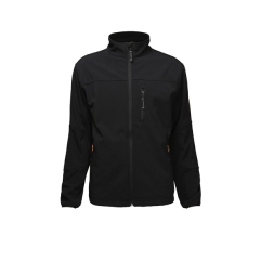 Mens Zipper Front Soft Shell