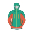 Herren Winter wasserdicht Schnee Ski warme Outdoor-Jacke
